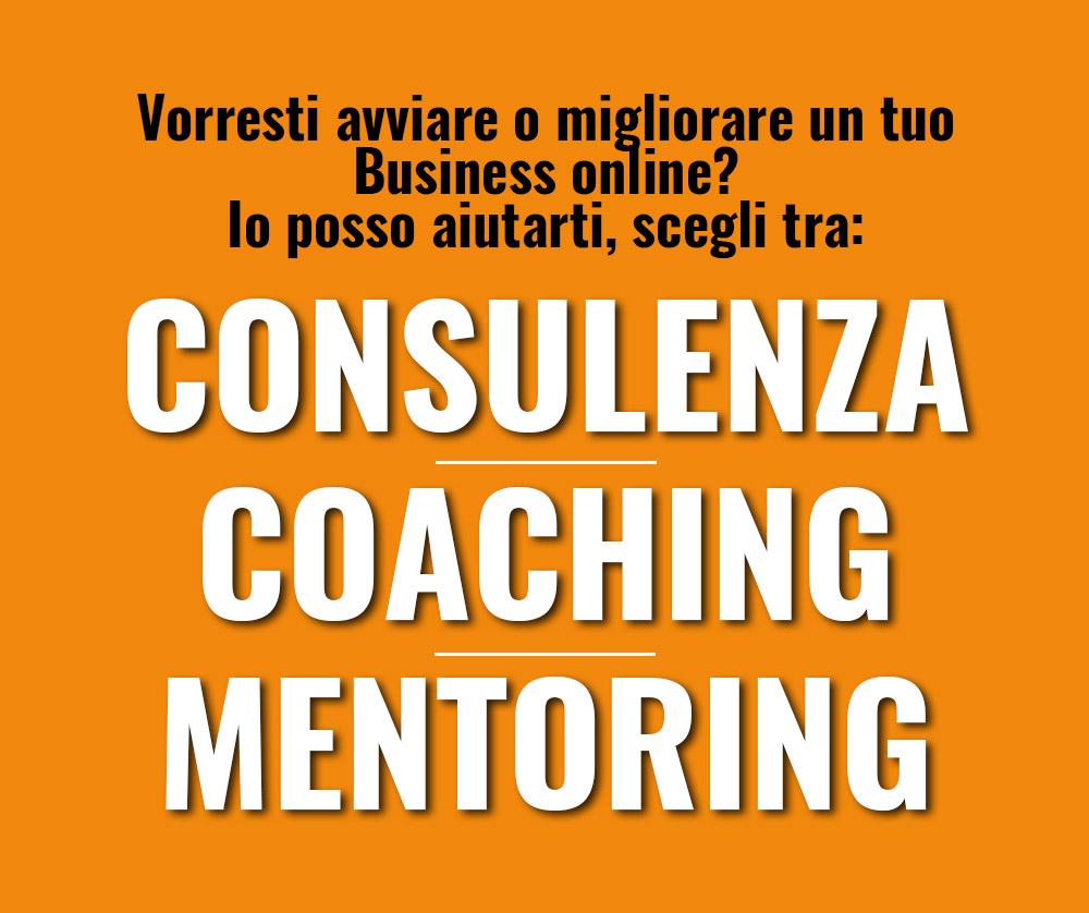 Consulenza coaching mentoring